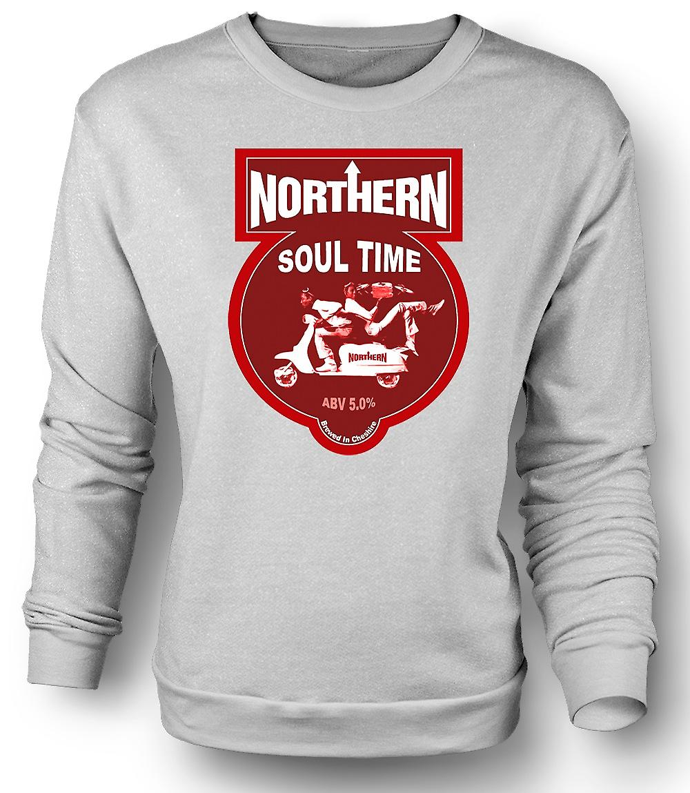 Mens Sweatshirt Northern Soul Scooter Vespa