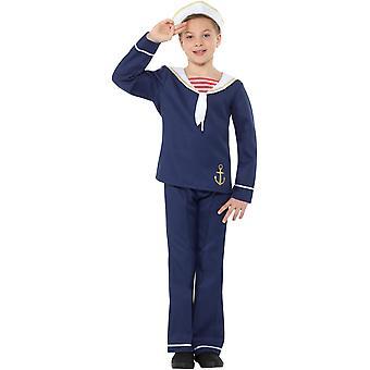 Matroos sailor boy kind kostuum carnaval schip jongen sailor boy