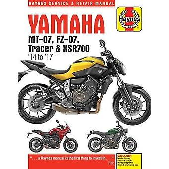 Yamaha MT-07 (Fz-07) - Tracer & XSR700 Service and Repair Manual - (20