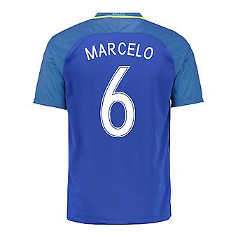 2016-17 Brazil Away Shirt (Marcelo 6)