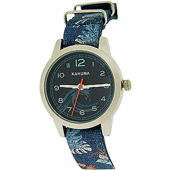 Kahuna Boys Blue Surf Kids Watch, Key Ring and Wallet Gift Set AKKS-0005M