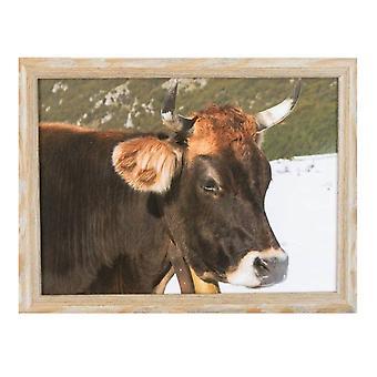 Laptop Poduszka krowę z dzwonkiem