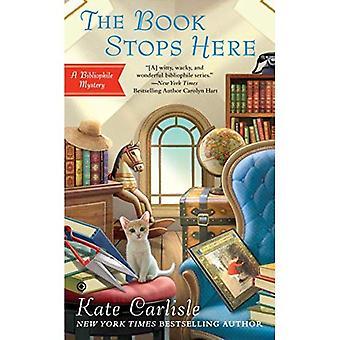 Boek hier stopt de: een bibliofiel mysterie