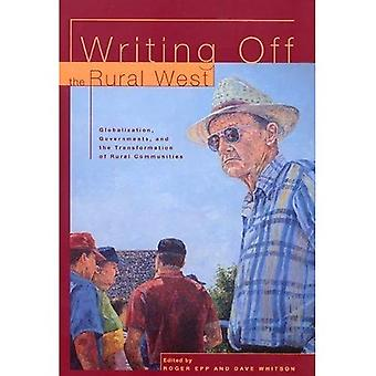 Writing off the rural West