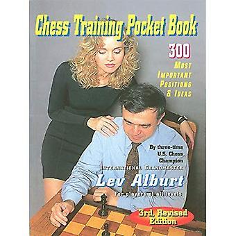 Libro de bolsillo de entrenamiento de ajedrez: 300 puestos más importantes y Ideas