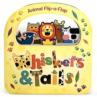 Whiskers & Tails (Flip-A-Flap) [Board book]