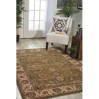 Corona persa PC002 rectángulo verde alfombras alfombras tradicionales