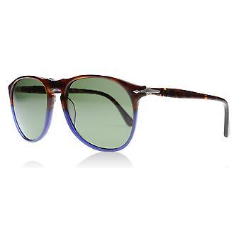 ec93af2016 Persol PO9649S 102258 Tortoise   Blue Fade PO9649S Pilot Sunglasses  Polarised Lens Category 3 Lens Mirrored