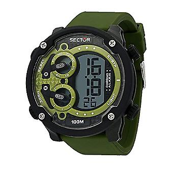 SECTOR men's digital watch with Silicone strap R3251571003
