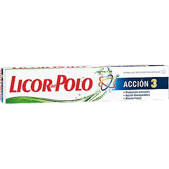 Licor Del Polo Tubo Acción 3 75 ml (Hygiene and health , Dental hygiene , Toothpaste)