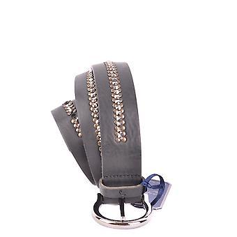 Jacob Cohen Black Leather Belt