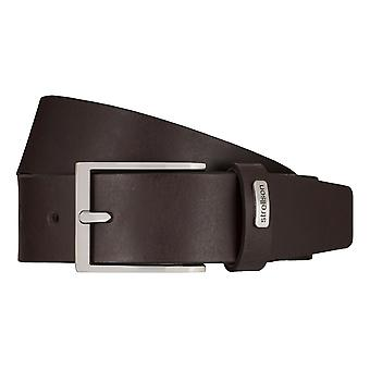 Strellson jeans belt men belt cowhide leather belt Brown 7925