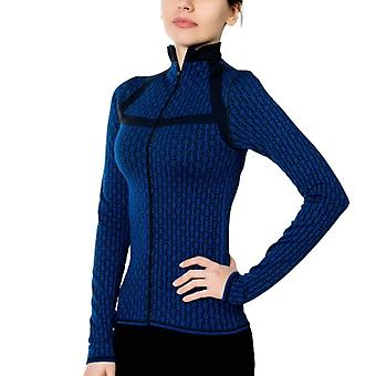 Jerf- Womens-pag - Blue Black  - Active Jacket