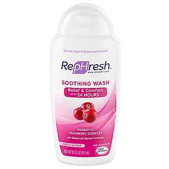Rephresh soothing wash clean, cranberry complex, 8.5 oz (discontinued)