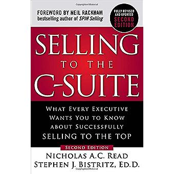 Selling To The C-Suite by Nicholas A. C. Read - 9781260116427 Book