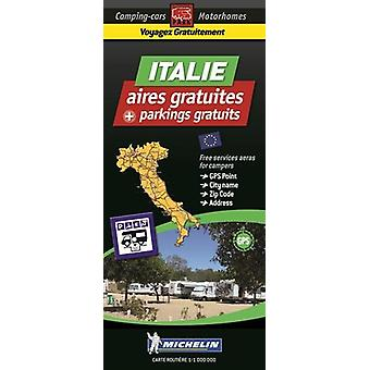 Italy Map - Free Motorhome Stopovers - 9782919004379 Book
