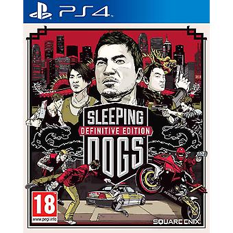 Sleeping Dogs Definitive Edition - Playstation 4 Reorderable