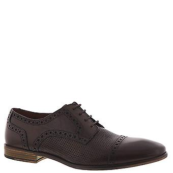 Kenneth Cole Reaction Fin Lace Up Oxford, Brown Leather
