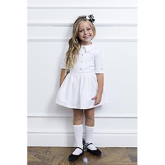 Weiße Mädchen verkleiden