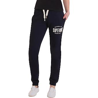 Superdry Damen Applique Slim Fit Jogger Bottoms