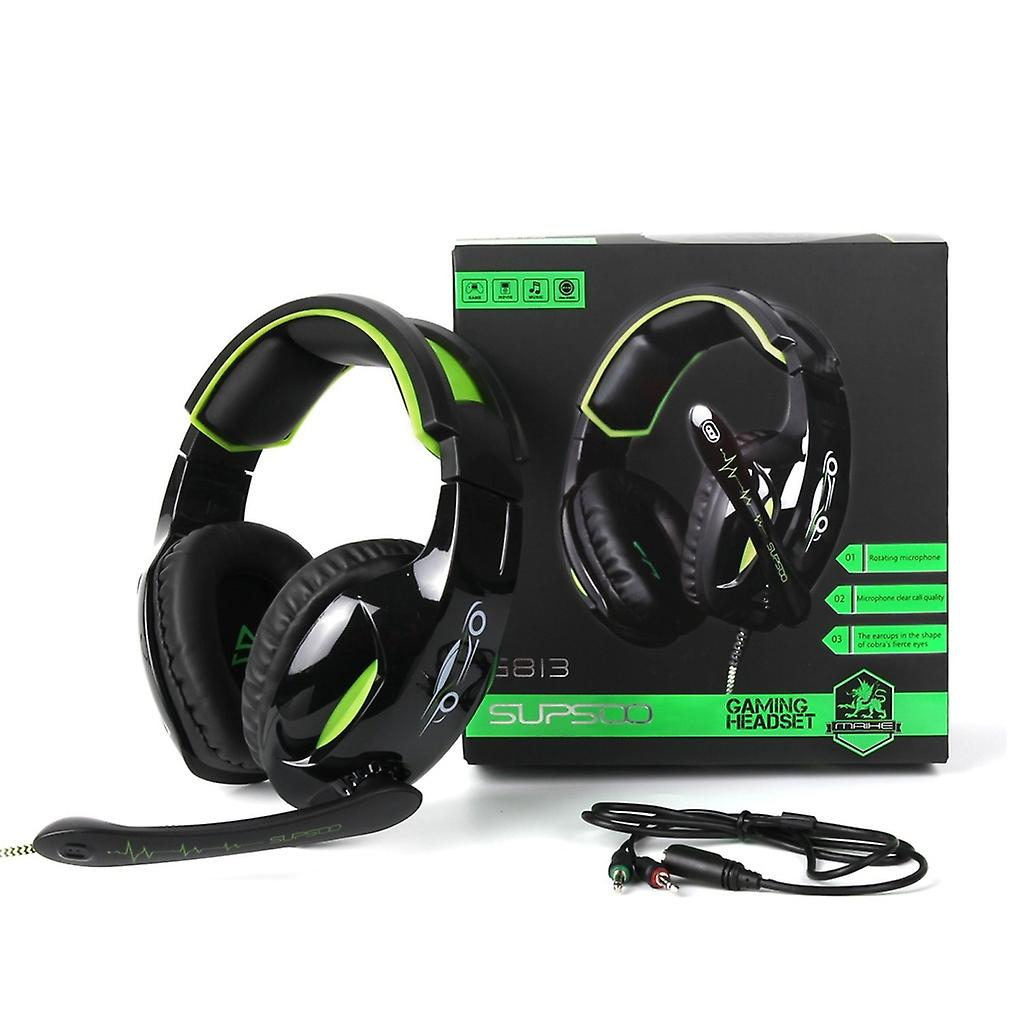 Supsoo G813 Stereo Gaming Headset med Wire Control & MIC