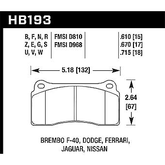 Hawk Performance HB193B. 670 HPS 5,0