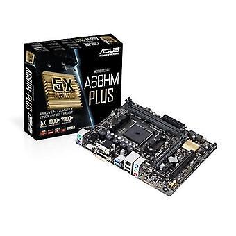 Asus a68hm-plus scheda madre chipset amd socket fm2+ form micro atx ram dimm ddr3 hdd sata iii