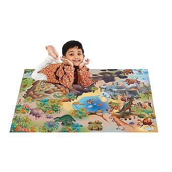 House of Kids Dinosaur spill mat
