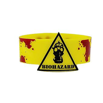 Wristband - Biohazard! Mask With Blood New Licensed Toys Gifts rwb-0049