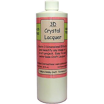 3D Crystal Lacquer Refill-18oz 1818