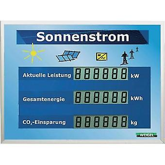 Weigel WGA350si-19-41 Large LCD display for solar systems