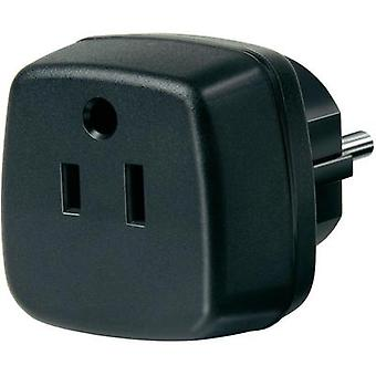 Brennenstuhl Travel adapter plugs Travel adapter USA, Japan/ protective contact Black