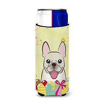 French Bulldog Easter Egg Hunt Michelob Ultra Koozies for slim cans BB1920MUK