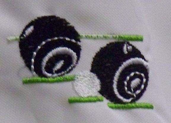 White Lawn Bowls V Neck Jersey Sizes Small to 5XL