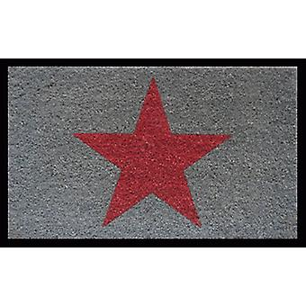 Aramis Doormat  Star  Grey-Red (Home , Textile , Doormats)
