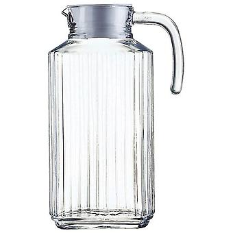 Luminarc Water Pitcher 1.7 L Quadro (Home , Kitchen , Vase, Filter And Cartridge , Jars )