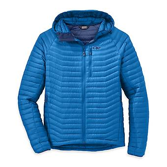 Outdoor Research Mens Verismo Hooded Down Jacket Glacier (X-Large)