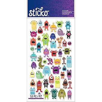 Autocollants Sticko Mini monstres E5201273