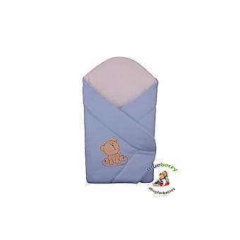 BlueberryShop Classic Waffle Swaddle Blanket, Wrap, Duvet for Newborn Baby, 100% Cotton, Baby Shower Gift