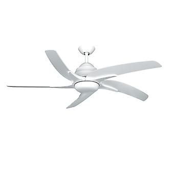 Ceiling fan Viper Plus White with LED lighting 112 cm / 44