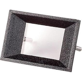 Face frame Black Compatible with: 2-digit LCD Ac