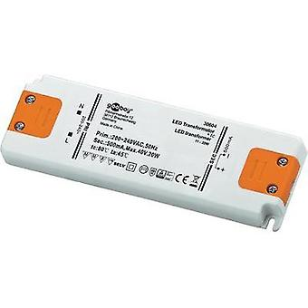 LED driver Constant current Goobay SET CC 500-20 LED 20 W (max)