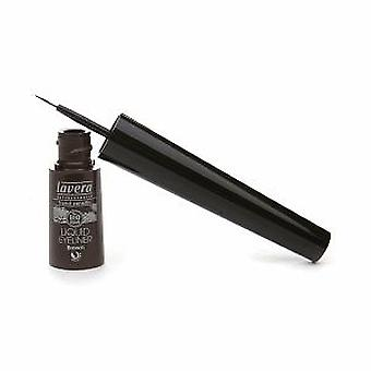 Lavera Liquid eyerliner -Brown 02- (Damen , Make-Up , Augen , Eyeliner)