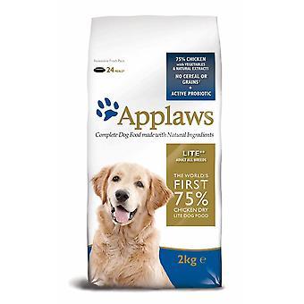 Applaws hund tør voksen alle race Lite kylling 2kg