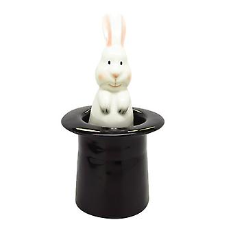 Rabbit in Magicians Hat Salt and Pepper Shaker Set