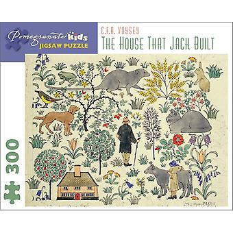 The House That Jack Built: C. F. A. Voysey 300-Piece Jigsaw Puzzle (Pomegranate Kids Jigsaw Puzzle) (Hardcover)
