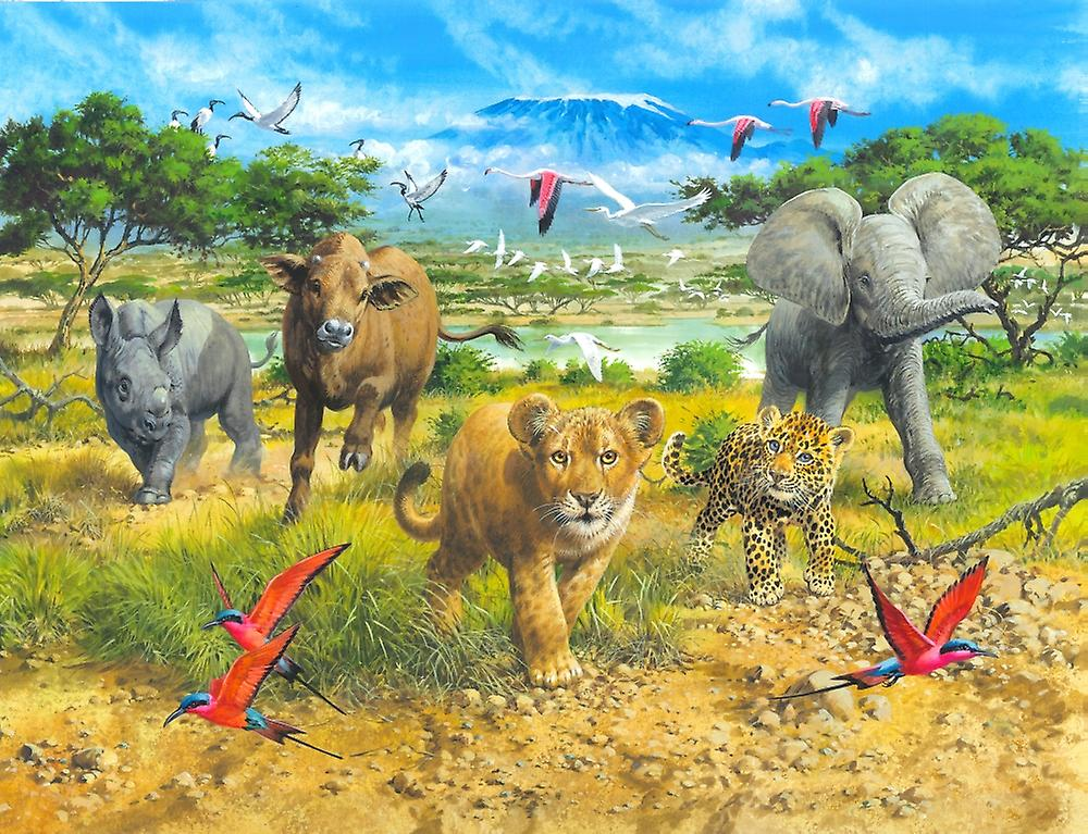 Африка в картинках для 2 класса, георгины