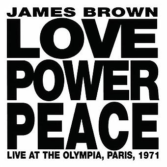 James Brown - Love Power Peace [CD] USA import