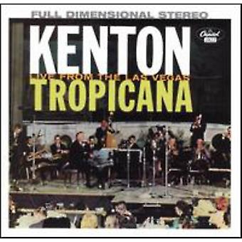 Stan Kenton - på the Las Vegas Tropicana [CD] USA import