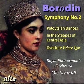 Royal Philharmonic Orchestra - Borodin: Symphony No. 2; Polovtsian Dances; in the Steppes of Central Asia [CD] USA import